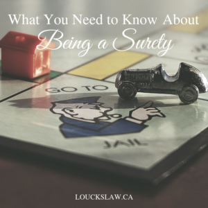 What You Need to Know About Being a Surety